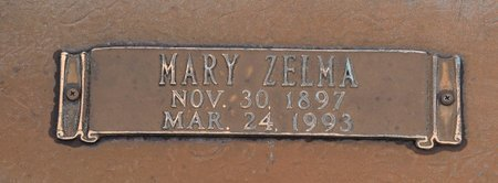ANDERSON, MARY ZELMA (CLOSE UP) - Webster County, Louisiana   MARY ZELMA (CLOSE UP) ANDERSON - Louisiana Gravestone Photos