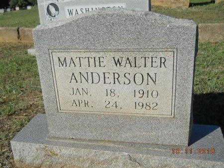 ANDERSON, MATTIE - Webster County, Louisiana   MATTIE ANDERSON - Louisiana Gravestone Photos