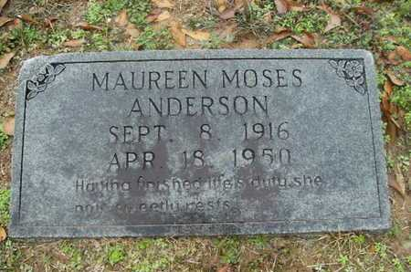 ANDERSON, MAUREEN - Webster County, Louisiana | MAUREEN ANDERSON - Louisiana Gravestone Photos