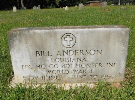 ANDERSON, BILL (VETERAN WWI) - Webster County, Louisiana | BILL (VETERAN WWI) ANDERSON - Louisiana Gravestone Photos