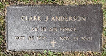 ANDERSON   , CLARK J (VETERAN) - Webster County, Louisiana | CLARK J (VETERAN) ANDERSON    - Louisiana Gravestone Photos