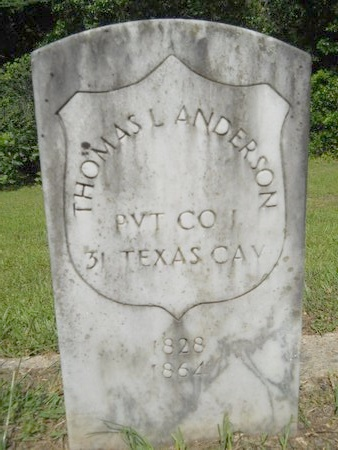 ANDERSON, THOMAS LAIR (VETERAN CSA) - Webster County, Louisiana | THOMAS LAIR (VETERAN CSA) ANDERSON - Louisiana Gravestone Photos