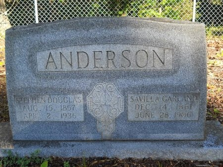 ANDERSON, STEPHEN DOUGLAS - Webster County, Louisiana | STEPHEN DOUGLAS ANDERSON - Louisiana Gravestone Photos