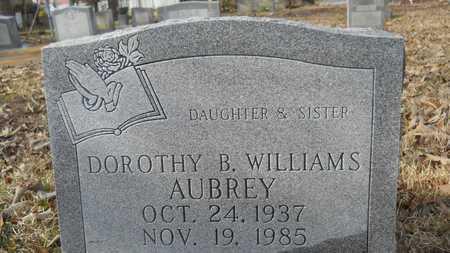 WILLIAMS AUBREY, DOROTHY B - Webster County, Louisiana | DOROTHY B WILLIAMS AUBREY - Louisiana Gravestone Photos