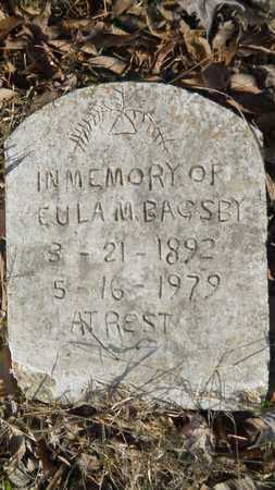 BAGSBY, EULA M - Webster County, Louisiana | EULA M BAGSBY - Louisiana Gravestone Photos