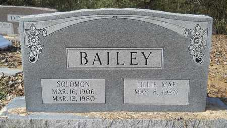 BAILEY, SOLOMON - Webster County, Louisiana | SOLOMON BAILEY - Louisiana Gravestone Photos