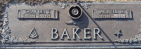 BAKER, CHARLES T - Webster County, Louisiana | CHARLES T BAKER - Louisiana Gravestone Photos
