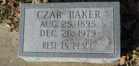 BAKER, CZAR - Webster County, Louisiana | CZAR BAKER - Louisiana Gravestone Photos