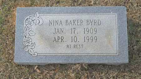 BAKER, NINA - Webster County, Louisiana | NINA BAKER - Louisiana Gravestone Photos