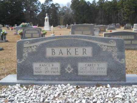 BAKER, CAREY - Webster County, Louisiana | CAREY BAKER - Louisiana Gravestone Photos