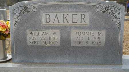 BAKER, TOMMIE M - Webster County, Louisiana | TOMMIE M BAKER - Louisiana Gravestone Photos