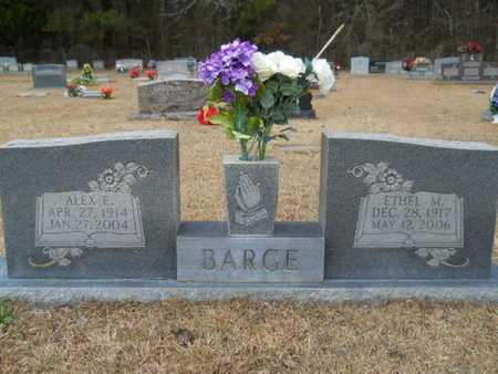 BARGE, ETHEL M - Webster County, Louisiana | ETHEL M BARGE - Louisiana Gravestone Photos