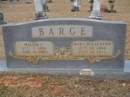 BARGE, WALTER C - Webster County, Louisiana   WALTER C BARGE - Louisiana Gravestone Photos