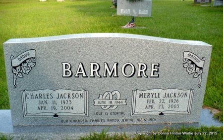 JACKSON BARMORE, MERYLE - Webster County, Louisiana   MERYLE JACKSON BARMORE - Louisiana Gravestone Photos
