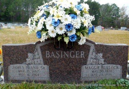 BASINGER, JAMES FRANK SR - Webster County, Louisiana | JAMES FRANK SR BASINGER - Louisiana Gravestone Photos