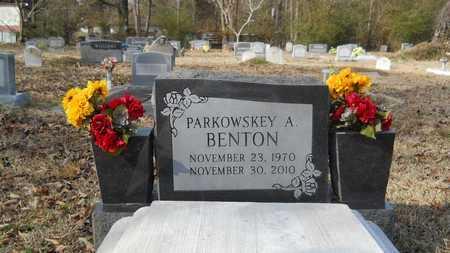 BENTON, PARKOWSKEY A - Webster County, Louisiana | PARKOWSKEY A BENTON - Louisiana Gravestone Photos