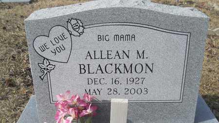 BLACKMON, ALLEAN M - Webster County, Louisiana | ALLEAN M BLACKMON - Louisiana Gravestone Photos