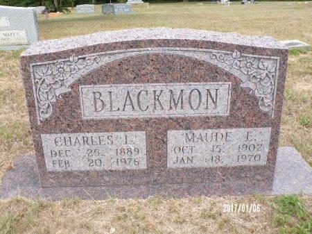 BLACKMON, MAUDE E - Webster County, Louisiana | MAUDE E BLACKMON - Louisiana Gravestone Photos