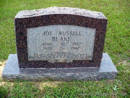 BLAKE, JOE RUSSELL - Webster County, Louisiana | JOE RUSSELL BLAKE - Louisiana Gravestone Photos