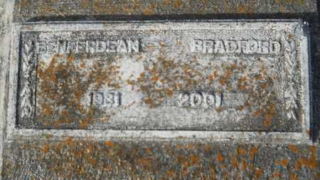BRADFORD, BENFERDEAN - Webster County, Louisiana | BENFERDEAN BRADFORD - Louisiana Gravestone Photos