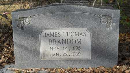 BRANDOM, JAMES THOMAS - Webster County, Louisiana | JAMES THOMAS BRANDOM - Louisiana Gravestone Photos