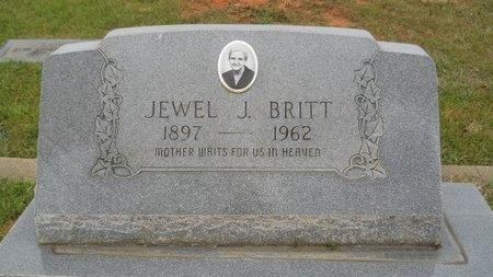 BRITT, JEWEL J - Webster County, Louisiana | JEWEL J BRITT - Louisiana Gravestone Photos
