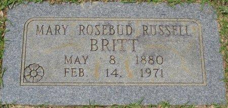 BRITT, MARY ROSEBUD - Webster County, Louisiana | MARY ROSEBUD BRITT - Louisiana Gravestone Photos