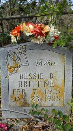 BRITTINE, BESSIE B - Webster County, Louisiana | BESSIE B BRITTINE - Louisiana Gravestone Photos