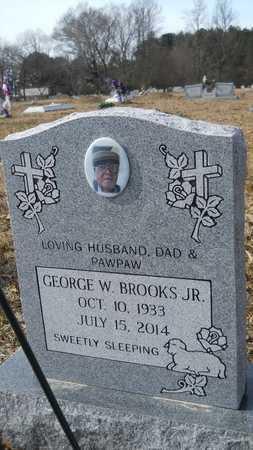 BROOKS, GEORGE W, JR - Webster County, Louisiana | GEORGE W, JR BROOKS - Louisiana Gravestone Photos