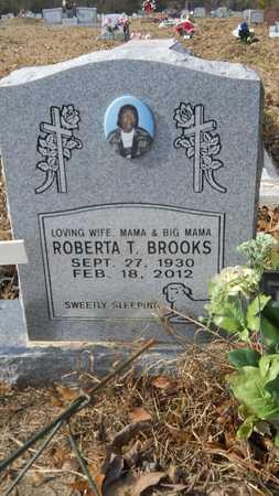 BROOKS, ROBERTA T - Webster County, Louisiana | ROBERTA T BROOKS - Louisiana Gravestone Photos