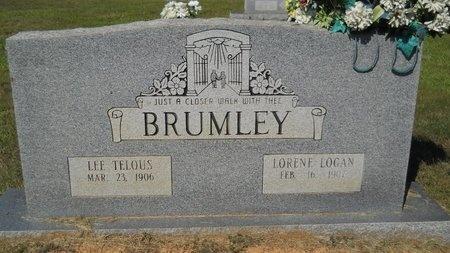 BRUMLEY, LEE TELOUS - Webster County, Louisiana | LEE TELOUS BRUMLEY - Louisiana Gravestone Photos