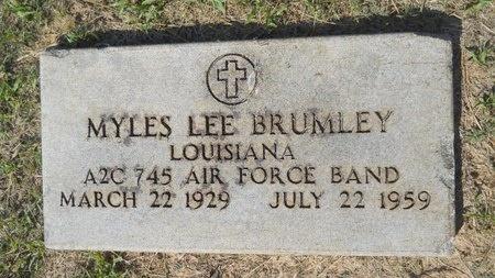 BRUMLEY, MYLES LEE (VETERAN) - Webster County, Louisiana | MYLES LEE (VETERAN) BRUMLEY - Louisiana Gravestone Photos