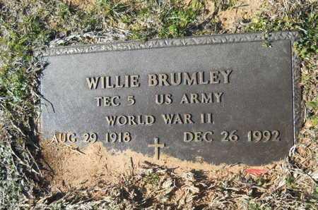 BRUMLEY, WILLIE (VETERAN WWII) - Webster County, Louisiana   WILLIE (VETERAN WWII) BRUMLEY - Louisiana Gravestone Photos