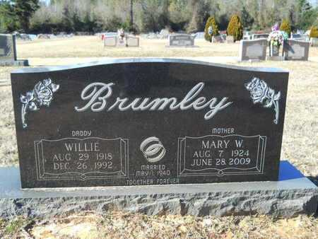 BRUMLEY, MARY W - Webster County, Louisiana | MARY W BRUMLEY - Louisiana Gravestone Photos