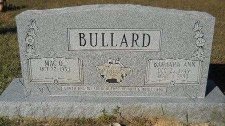BULLARD, BARBARA ANN - Webster County, Louisiana   BARBARA ANN BULLARD - Louisiana Gravestone Photos