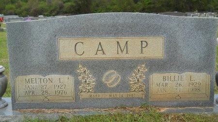 CAMP, MELTON L - Webster County, Louisiana | MELTON L CAMP - Louisiana Gravestone Photos
