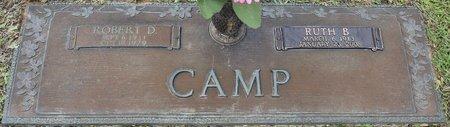 CAMP, RUTH B - Webster County, Louisiana | RUTH B CAMP - Louisiana Gravestone Photos