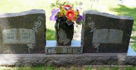 HUGHES CARTER, GLADYS - Webster County, Louisiana | GLADYS HUGHES CARTER - Louisiana Gravestone Photos