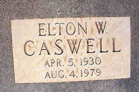 CASWELL, ELTON W (CLOSE UP) - Webster County, Louisiana | ELTON W (CLOSE UP) CASWELL - Louisiana Gravestone Photos