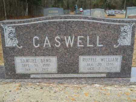 CASWELL, SAMUEL BENO - Webster County, Louisiana | SAMUEL BENO CASWELL - Louisiana Gravestone Photos