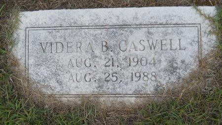 CASWELL, VIDERA B - Webster County, Louisiana   VIDERA B CASWELL - Louisiana Gravestone Photos