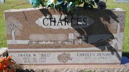 "CHARLES, FRANK W ""BILL"" - Webster County, Louisiana   FRANK W ""BILL"" CHARLES - Louisiana Gravestone Photos"