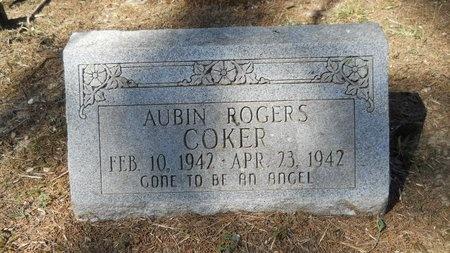 COKER, AUBIN ROGERS - Webster County, Louisiana | AUBIN ROGERS COKER - Louisiana Gravestone Photos