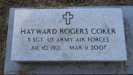 COKER, HAYWARD ROGERS (VETERAN) - Webster County, Louisiana | HAYWARD ROGERS (VETERAN) COKER - Louisiana Gravestone Photos