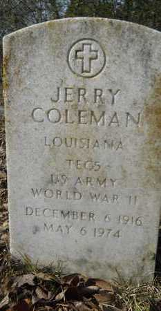 COLEMAN, JERRY (VETERAN WWII) - Webster County, Louisiana | JERRY (VETERAN WWII) COLEMAN - Louisiana Gravestone Photos