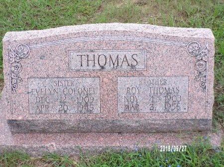 THOMAS, ROY  - Webster County, Louisiana   ROY  THOMAS - Louisiana Gravestone Photos