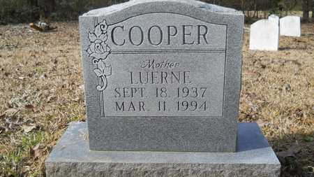 COOPER, LUERNE - Webster County, Louisiana | LUERNE COOPER - Louisiana Gravestone Photos