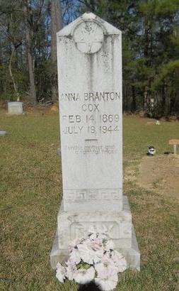 COX, ANNA - Webster County, Louisiana | ANNA COX - Louisiana Gravestone Photos