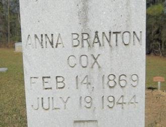 COX, ANNA (CLOSE UP) - Webster County, Louisiana | ANNA (CLOSE UP) COX - Louisiana Gravestone Photos