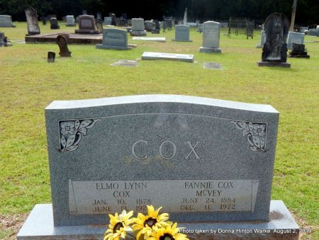 COX, ELMO LYNN - Webster County, Louisiana | ELMO LYNN COX - Louisiana Gravestone Photos